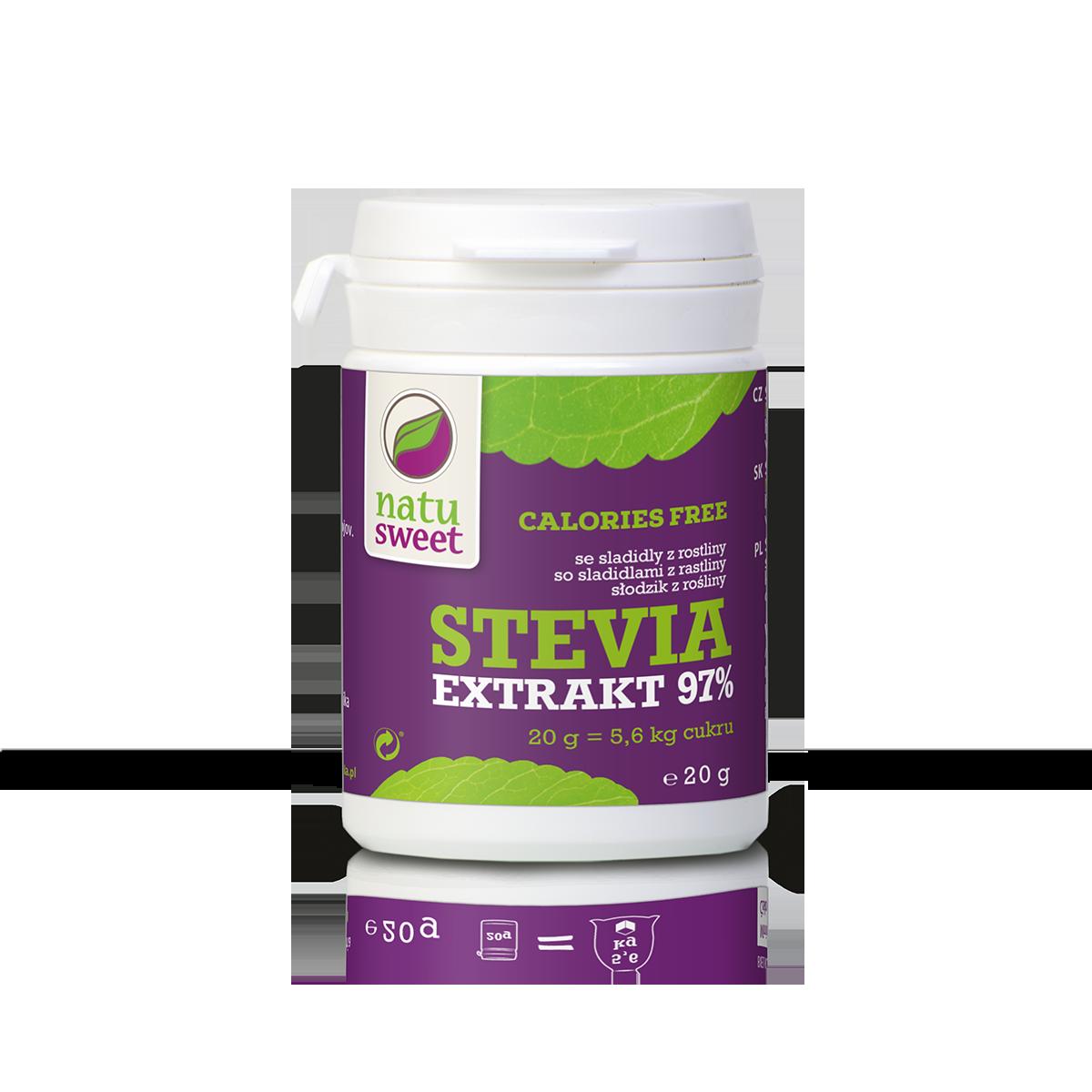 Natusweet Stevia Extrakt 97%