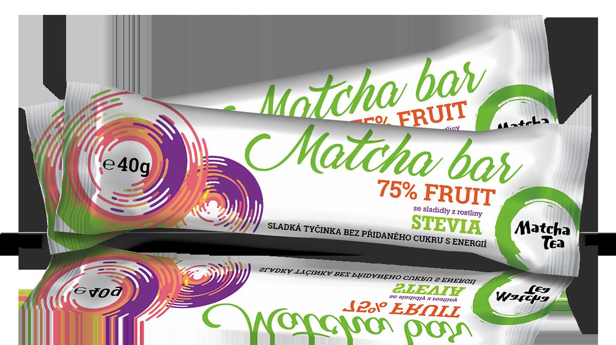 Natusweet Stevia Matcha Bar