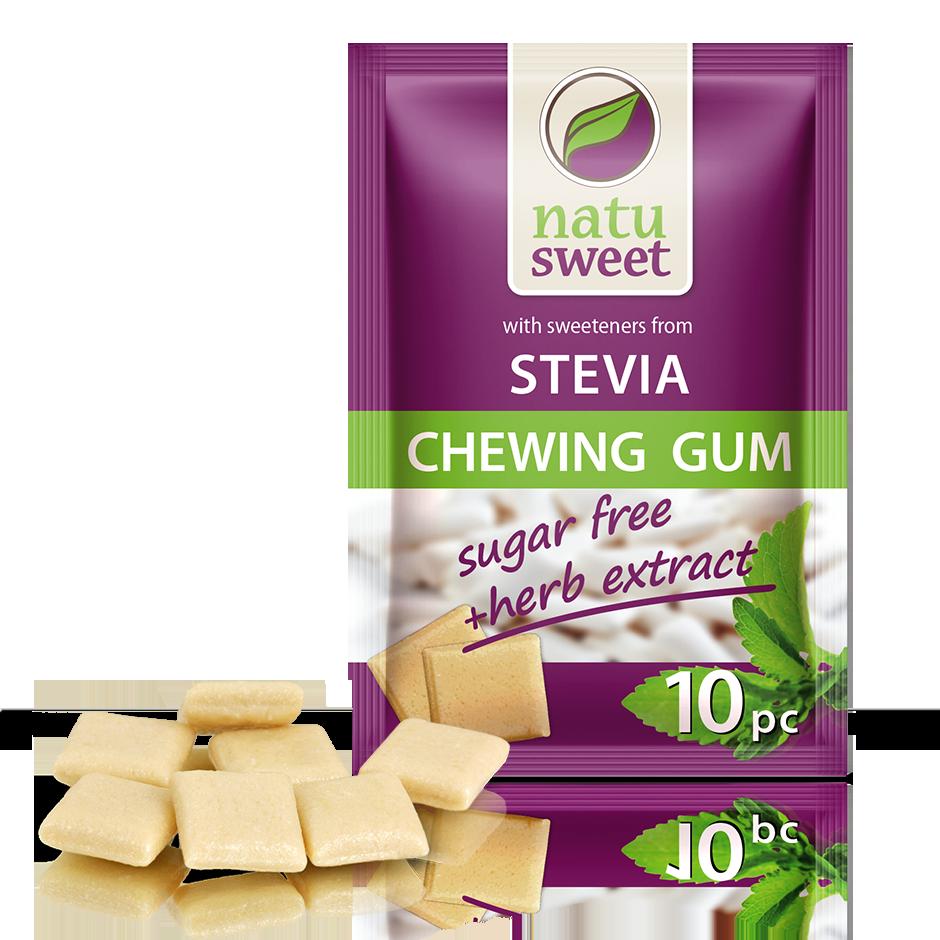 Natusweet Stevia Žvýkačky
